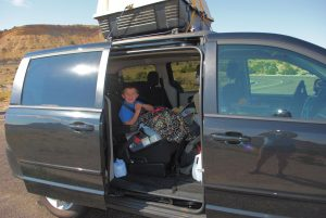 Going camping across the country with 4 kids during a military PCS move