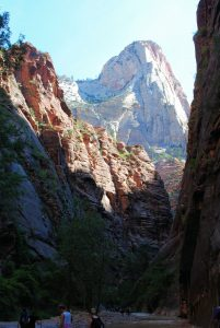 Zion National Park was a great place to hike and relax during a cross-country PCS move.