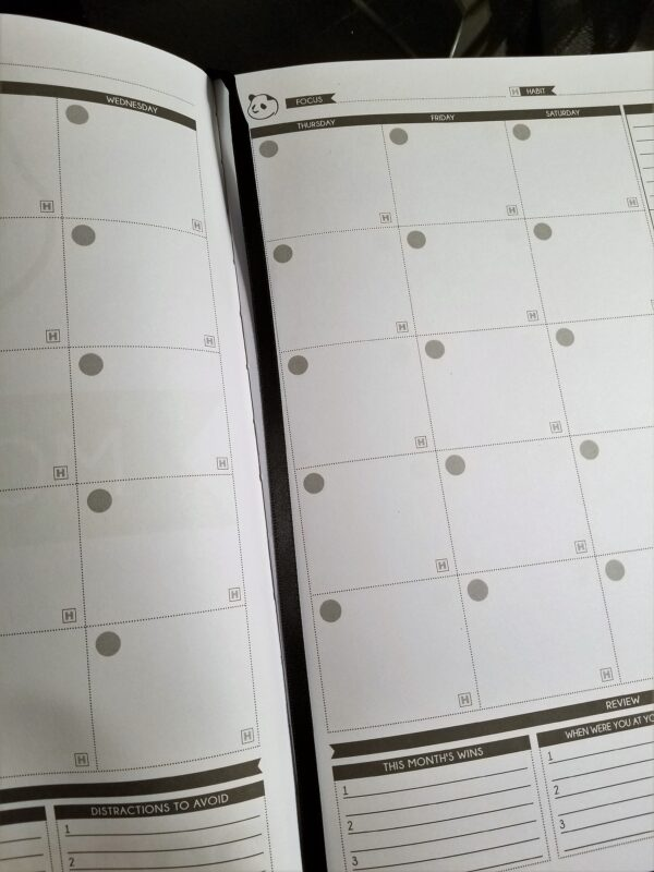 Use a planner to help you crush your deployment goals!