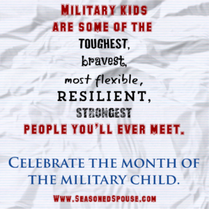 These are the positive traits of military children. Read more about their challenges here.