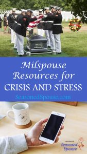 Use these milspouse resources and military family hotlines for free, confidential help when you are seriously stressed.
