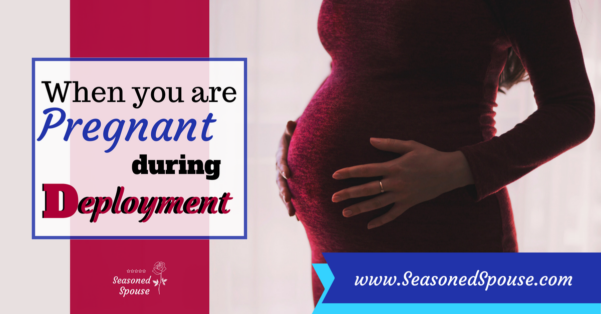 A military spouse shares her experience being pregnant during deployment and giving birth alone.